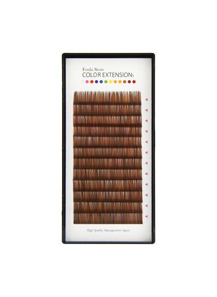 Color Volume Up Lash 12 Lines Random MIX Brown