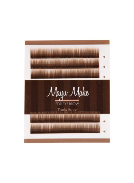 Eyebrow Extension 5 Lines Chocolate Brown