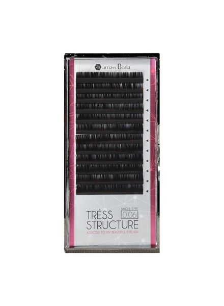 TRESS STRUCTURE 12 Lines D Curl 0.06mm
