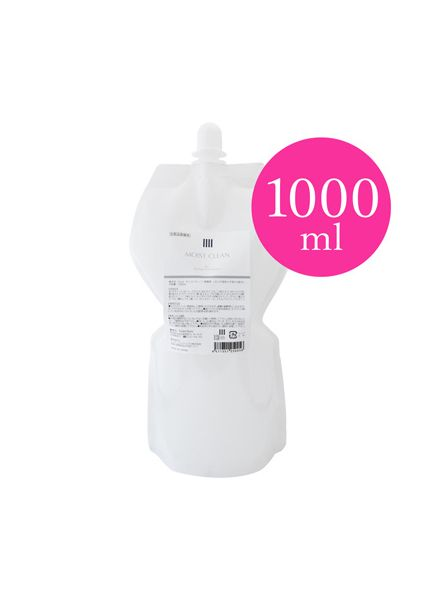 MOIST CLEAN -Cleansing Toner for Lashes- (Refill) 1000ml